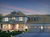The Blanchette Elevation C. Great front door setup. Comfort home. Big garage.