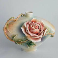 Image detail for -Franz Porcelain Rose of Peace