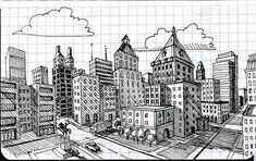 Oh great 2-point perspective, why must you always elude me?