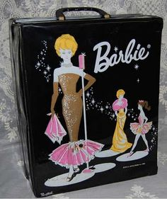 barbie doll case....I still have this...TR