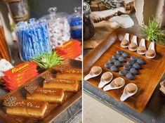 A Masculine Dessert Table & Decor