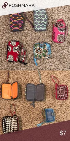 0222c5b7d8e1 Very Bradley Wristlet Wallets Lightly used. Have no use for them anymore.  Asking  7