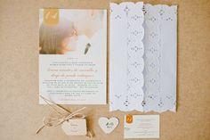 convite de casamento DIY http://lapisdenoiva.com/home/convite-do-nosso-casamento
