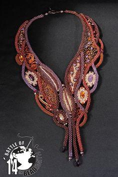 BATTLE OF THE BEADSMITH 2014 Melinda Kadar; Arabian Nights Piroska Bódi-- photos  https://www.facebook.com/photo.php?fbid=10152144854970079