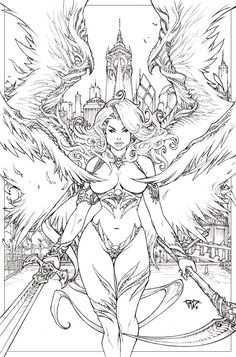 Lady Death Universe by Paolo Pantalena  *