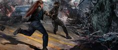 These images are in the Marvel's Captain America: The Winter Soldier: The Art of the Movie book.