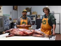 EatWild - How to Butcher a Deer at Home - Cut and Wrap for the Freezer - YouTube