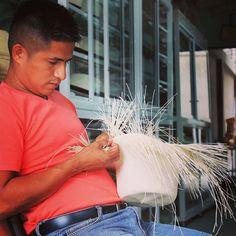 #ecuadorianhat artesano #montecristi