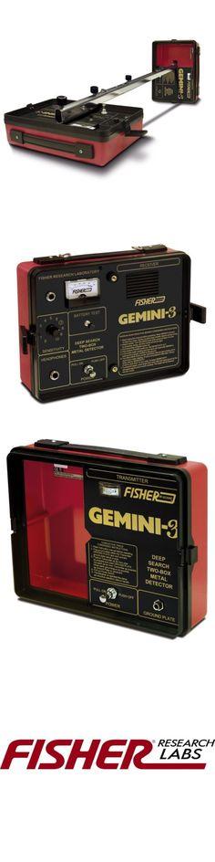 Metal Detectors: Fisher Gemini 3 Deep Seeking 2 Box Cache, Relic And Treasure Metal Detector -> BUY IT NOW ONLY: $721.65 on eBay!