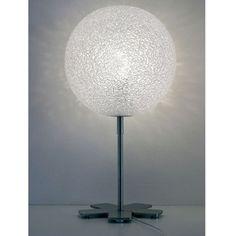 Lampe de Table Ice Globe - Blanc