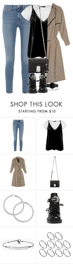 """Unbenannt #1069"" by flytotheunknown ❤ liked on Polyvore featuring M.i.h Jeans, Boohoo, Vetements, Miu Miu, Balenciaga, MICHAEL Michael Kors, ASOS and ROSEFIELD"