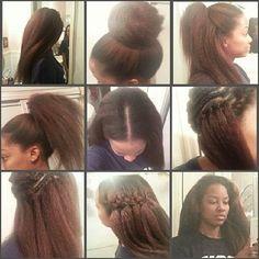 kanekalon crochet braids Pelo Natural, Natural Hair Tips, Natural Hair Styles, Natural Braids, Straight Hairstyles, Girl Hairstyles, Braided Hairstyles, Crochet Weave Hairstyles, Updo Hairstyle