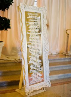 Creative Seating Chart Displays | Weddings Illustrated