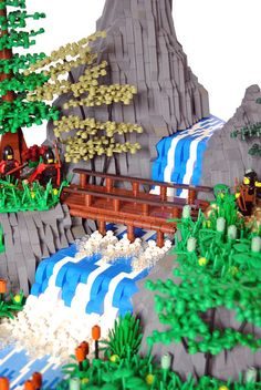 Lord of the Rings - Darius The Thief His Travel, Legos, Diorama, Paths, Lord, Gardens, Printables, Characters, Display