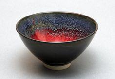 Wheelthrown Porcelain Bowl by hsinchuen, $100.00 >> beautiful glaze!