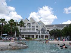 Disney's Yacht Club Resort - Storm Along Bay Pool.  Disney World.