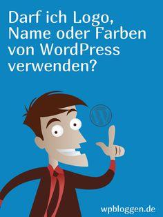 Darf ich Logo, Name oder Farben von WordPress verwenden? — wpbloggen.de