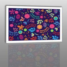 Unikalny Projekt > >> Kwiaty   ___ http://thenikodem.pl/home/210-kwiaty-nowoczesny-obraz-na-plotnie.html  #fotoobraz #TheNikodem #kwaty #niebieski #granatowy #unikalny #wzór #art #canvasart #sztuka #artysta #fotograf #unikalne #canvas #płótno #sklepinternetowy