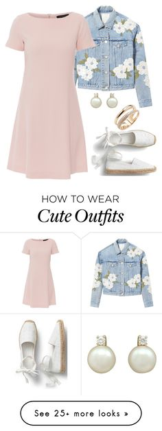 """Cute simple spring outfit"" by danigirl-dd on Polyvore featuring Rebecca Taylor, Antonelli, Effy Jewelry and springdresses"
