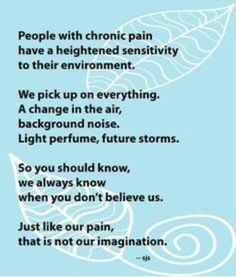 Invisible Illness ¥ & Chronic Pain