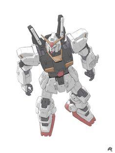 RX-178 Gundam Mk.II by Mousanjiq on DeviantArt