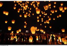 I want to light a lantern on my wedding, so romantic