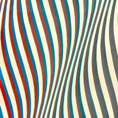 kundst: Bridget Riley (UK Scale Study for Cataract gouache and graphite on paper (detail) Bridget Riley Artwork, Geometric Art, Optical Illusions, Graphic Design Inspiration, Art Day, Insta Art, Graphic Art, Cool Art, Abstract Art