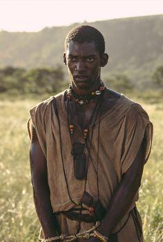 Malachi Kirby as Kunta Kinte -- Roots Cast -- History.com