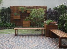 Recreação e paisagismo no jardim