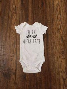 Late baby vest