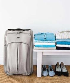 Expert advice on the best way to pack a suitcase.