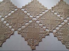 Caminho de mesa em crochê/ trilho de mesa em crochê/ centro de mesa de crochê - YouTube