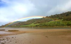 Our open top double deckers offer ‪#‎amazing‬ panoramic views of the estuary. This afternoon we've had a ‪#‎beautiful‬ ‪#‎rainbow‬ appear between showers and we hope it brings someone good luck in finding our ‪#‎GoldenTicket‬! Join us at Seaton Tramway for a magical journey whatever the weather: http://www.tram.co.uk/