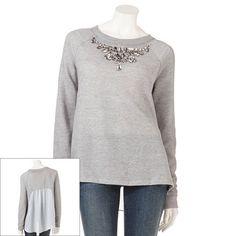 JLo sweatshirt from Kohl's❤️❤️❤️