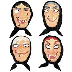 Masque de Sorcière #masquesdéguisements #accessoiresdéguisements #accessoiresphotocall
