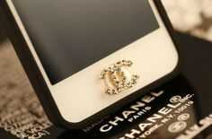 This CC home button is the perfect accessory for your phone! It adds style and fashion! Ships out within 1 business day