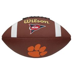 Wilson Composite Football - Clemson Tigers