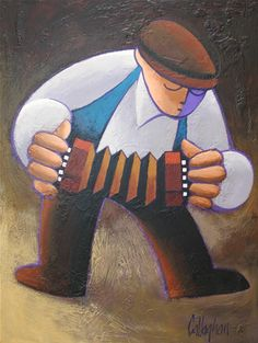 Squeeze box, by George Callahan