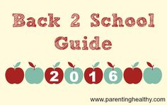 Your guide to products that will get you through the school year!