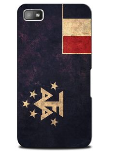 French Southern and Antarctic Lands Country Flag Case Cover Design for Blackberry
