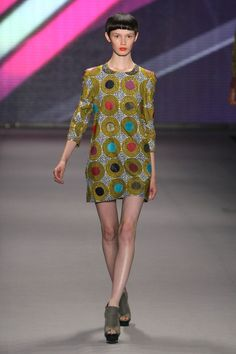 African Fashion Collective - Runway - Spring 2010 MBFW