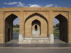 Allahverdi Khan bridge (Si-o-se Pol).1602, Isfahan, Iran