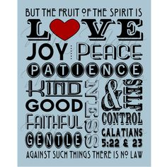 Fruit of the Spirit - Love, Joy, Peace, Scripture Art, Galatians 5, Digital Christian Subway Art Wall Art Bible Verse Print, Customizable