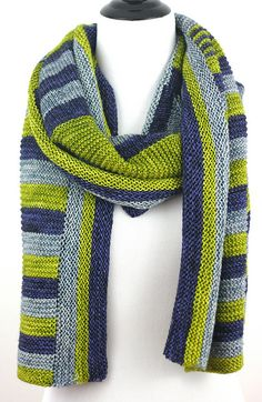 Wickford is a large rectangular shawl with plenty of fabric to wrap yourself in. Worked from the center out, it features a variety of techniques to keep the knitting interesting and easy. Garter and stripes create a graphic, squishy accessory.