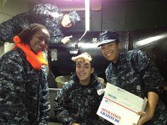 ...Operation Gratitude Visits USS Ronald Reagan...