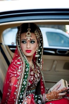 Pakistani Bride - Red Wedding Dress