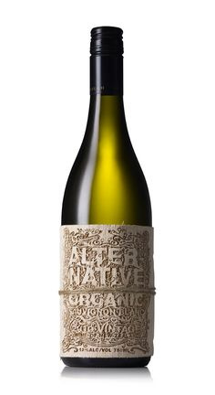 Alternative Organic Wine - The Dieline