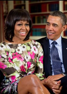 #44 President Of The United States Barack Obama & First Lady MichelleObama