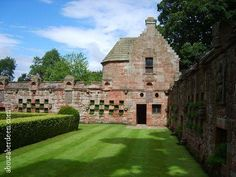 Summer House at Edzell (Lindsay family) castle! I want to go to my castle!!!!!!