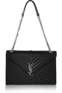 6fcfc6a22fc0 Saint Laurent - Monogramme large quilted leather shoulder bag